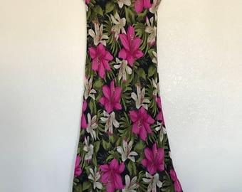Pink floral Jessica Howard dress