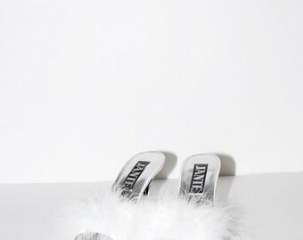 Vintage Fuzzy Heels