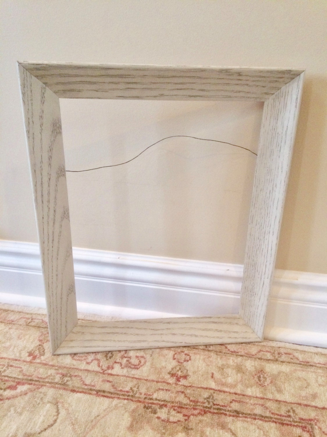 1800 - Whitewashed Picture Frames