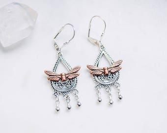 Faery chandelier earrings
