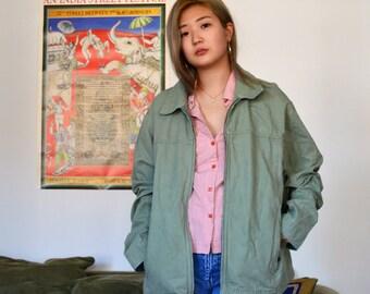 vintage l.l. bean green jacket