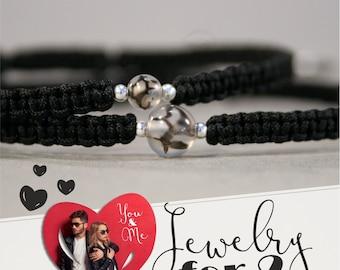Bracelets for two, couples jewelry, partner jewelry, jewelry for couples, couple jewelry, Partnerlook, friendship bracelets, friend girlfriend