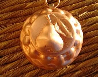 Italian vintage small copper mold