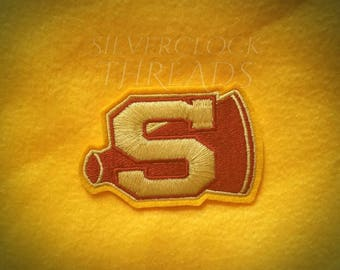 Sew-on patch - Buffy the Vampire Slayer Sunnydale High School Cheerleader inspired patch -  8 cm / 3 in - costume and cosplay prop