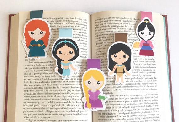 Classic Princess Magnetic Bookmark -  Princess Bookmark - Set 2