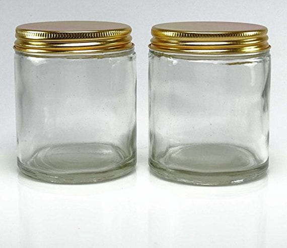 8 oz mason jars empty glass jars clear glass jars refillable solid perfume jar cosmetic. Black Bedroom Furniture Sets. Home Design Ideas