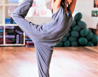 Custom made Women Yoga Jumpsuit, Choose your color, Yogawear, Activewear, Jumpsuit, Stretch and comfortable, Unique