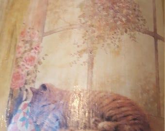 Antiqued Book....Judith Bond....Books of Love.  ..vintage. .grandmother