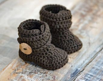 Crochet Booties Pattern, Crochet Pattern Baby Booties, Baby Booties Pattern, Crochet Shoe Pattern