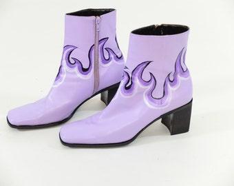 Lilac heels | Etsy