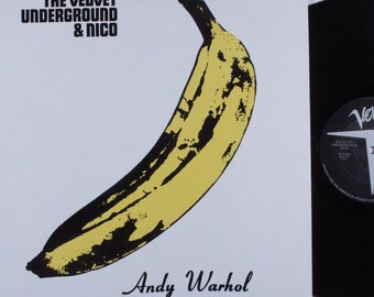 The Velvet Underground & Nico - Self Titled Debut - Well-preserved vintage pressing - Andy Warhol - Lou Reed- Free Shipping!