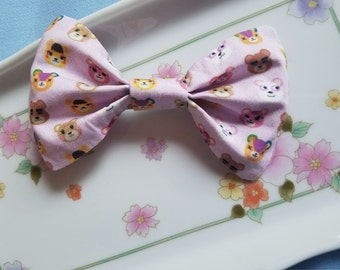 Stitches Maple Teddy Animal Crossing Pink Hair Bow Cherri Tammy Pinky Bear Villager Original Print