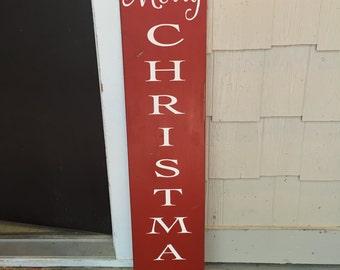 Merry Christmas, Merry Christmas sign, large Merry Christmas sign, Christmas decor, Christmas porch decor