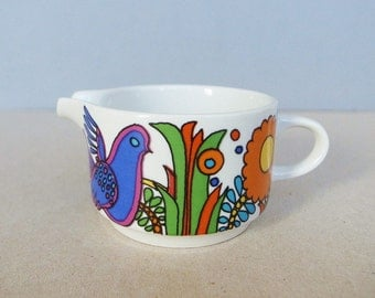 German Vintage - Acapulco - Small Cremer / Jug / Pitcher by Villeroy & Boch Luxembourg Designed by Christine Reuter