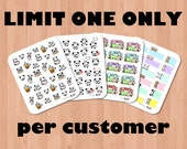PRE-ORDER: Mixed Bundle - Coffee with Tofu, Large Tofujis, It's Payday, Peek-A-Boo Page Flags