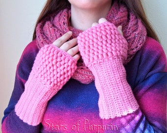 Pink Sleeves - Mittens, Gloves, Winter, Kawaii, Gift, Christmas Gift