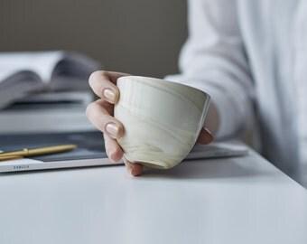 espresso cup,ceramic,marble,wedding gift, porcelain,cappuccino,espresso,Coffee cup,Tea cup,Potteryhandemade,mug,cupful,giftforhim