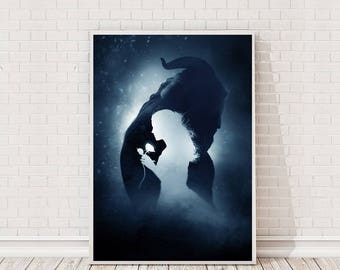 Beauty and the Beast Poster Art Film Poster Movie Poster