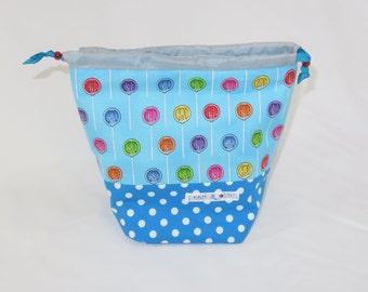 Sock Project Bag // Emily Sack // Summer Sugar Lollies