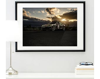 Tesla Model P85D Front Angle View #2 | automotive photography | automotive prints | car photography | car prints | American Car | 11 sizes