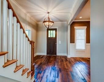 Reclaimed Hit and Skip Oak Flooring