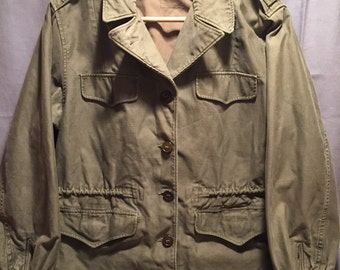 WW2/Korean War Era U.S Army M43 Field Jacket Female Version