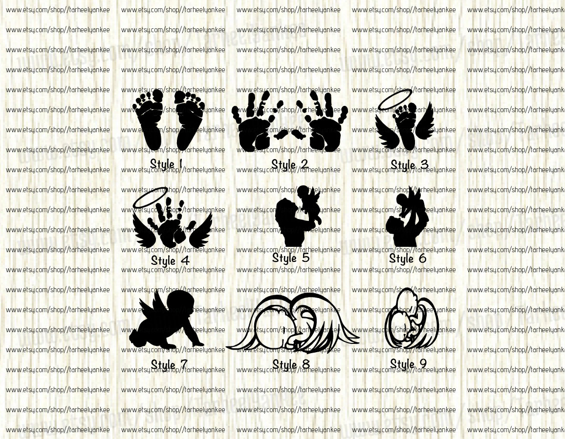 Baby loss ornaments - Miscarriage Decal Infant Loss Decal Angel Baby Memorial Decal Twin Memorial Decal