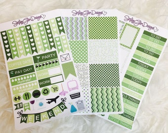 March Madness Weekly Sticker Kit | Erin Condren & Plum Paper Planner