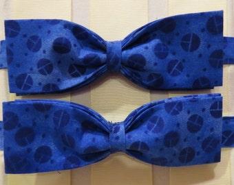 Blue Balls Bow Tie