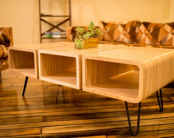 Three Piece Coffee Table. Center Table. Plywood Furniture. Modern Center  Table. Modern