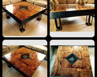 Gears of Time: Clock Coffee Table