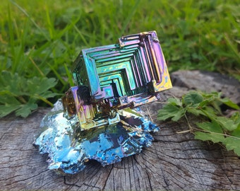 199 Gram Rainbow Bismuth Crystal