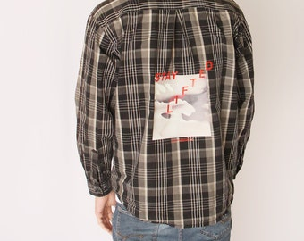 Aesthetic Flannel Etsy