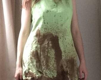 Vintage  Green 'Poison Ivy' Costume, UK 8