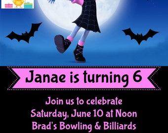 Vampirina Invitations, Disney Junior Vampirina