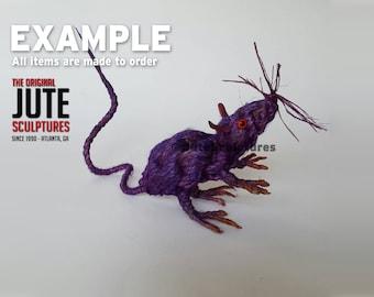 Jute Rat - Medium - Color Blended