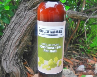 Herbal Conditioner for Fine Hair – Natural Hair Conditioner– Handmade Thickening Conditioner