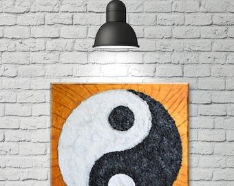 Yin Yang II - Original Acrylic Painting