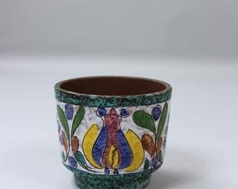 Vintage flower pot planter ceramic planter