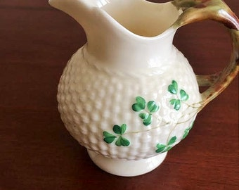 Belleek Cream Pitcher