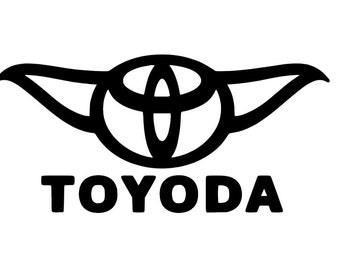 Toyoda Decal | Star Wars Decal | Disney Decal | The Force Awakens | Return of the Jedi | The Empire Strikes Back | Laptop | YETI | RTIC