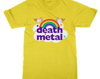 Death metal happy ironic t-shirt