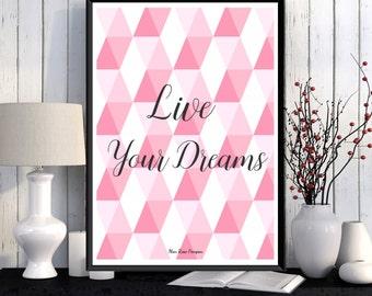 Poster art, Scandinavian poster design, Wall art decor, Graphic pattern, Home decor, Wall poster, Printable wall art, Art print, Gift idea