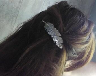 Barrettes pen silver