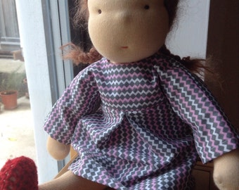 40 cm Waldorf inspired doll, waldorf doll by Ninna