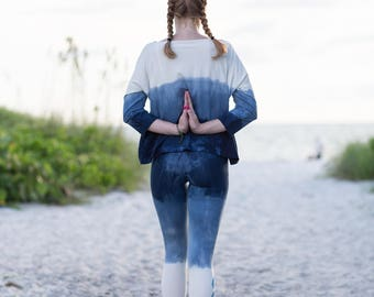 Unique Yoga Pants - Bamboo Leggings - Organic Leggings - Organic Yoga Pants - Bamboo Yoga Pants - Boho Pants - Womens Yoga Pants