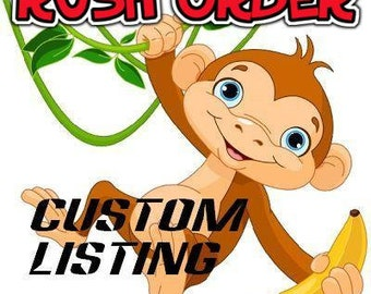 Rush Order Service - Rush My Order Of 1 - 5 Masks In One Business Day