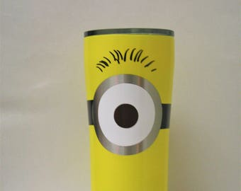 minion, minion gift, yeti, ozark, yeti tumbler, powder coated, powder coat, custom yeti, custom ozark, custom cup, ozark trail, personalized