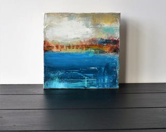 COPPER GAP... abstract landscape art, acrylic landscape, art, abstract landscape, contemporary landscape, painting, landscape, abstract art,