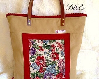 Shopper bag reversible